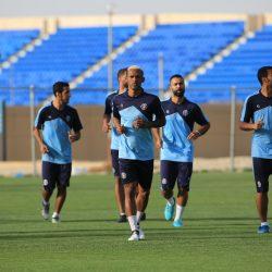 هجر يواصل مرانه الرئيسي استعداداً لمباراته المقبلة أمام الخليج
