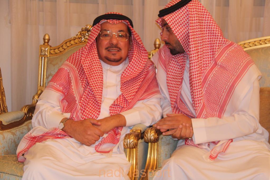 الحماد يلتقي إدارة الروضة ويشيد بإنجازات النادي ويعد بالدعم