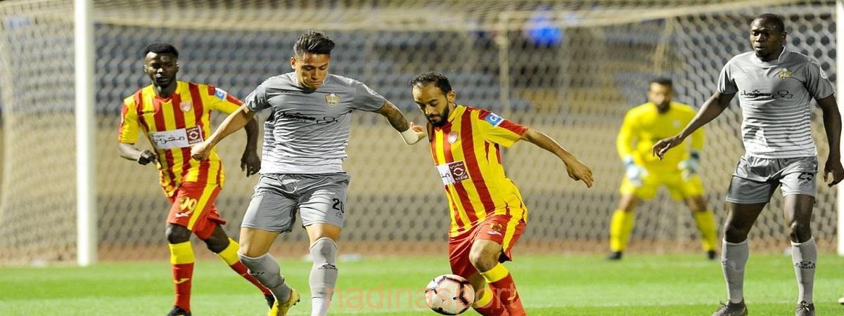 ضمك يتأهل إلى الدوري السعودي للمحترفين