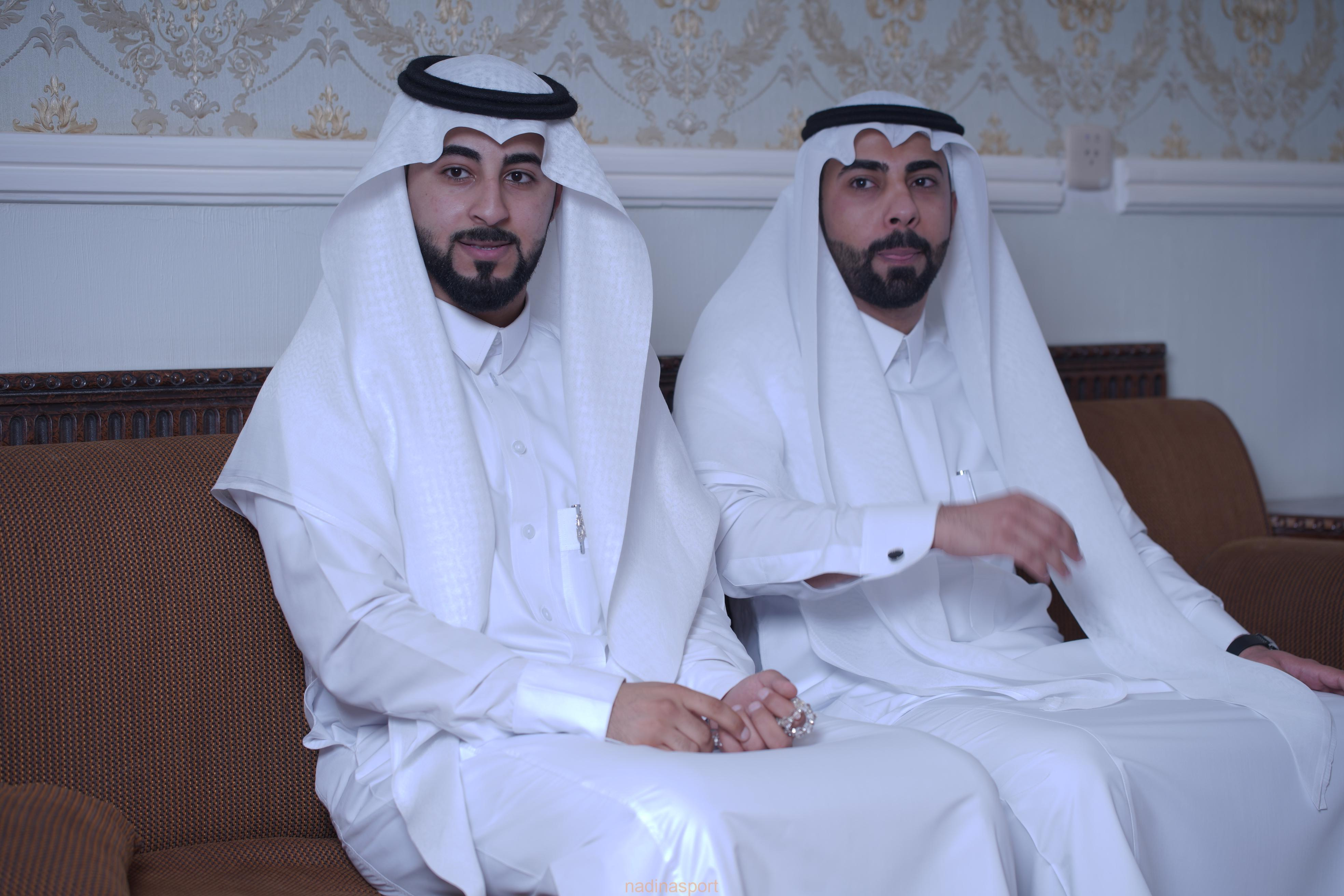أسرة السحيب تحتفل بعقد قران ابناهم صالح ومهدي