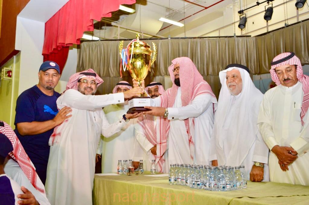ختام منافسات الأولمبياد الرياضي لأندية الأحياء إجازتي ٤ بالأحساء