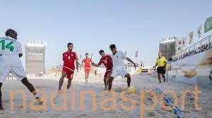الأخضر يخسر أمام الإمارات ويحل رابعاً في بطولة نيوم لكرة القدم الشاطئية