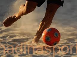 منتخبنا الوطني يشارك في بطولة كرة القدم الشاطئية