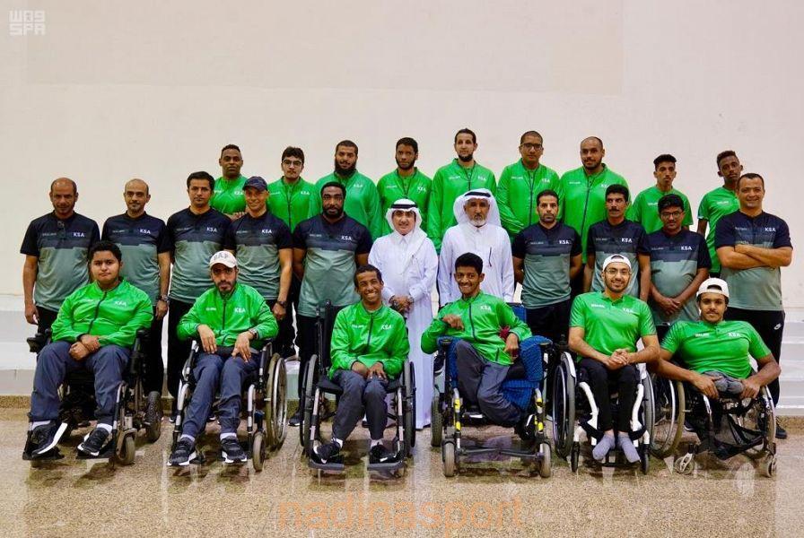 منتخبات المملكة لذوي الإعاقة تستهل غداً مشاركتها في دورة ألعاب غرب آسيا بالأردن