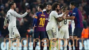 رابطة الليجا تحدد موعد كلاسيكو الدور الأول بين برشلونة وريال مدريد
