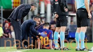 برشلونة يصدر بيانًا رسميًا بشأن إصابة ميسي
