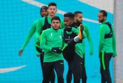 الأخضر يواصل تدريباته في طشقند بمشاركة المالكي