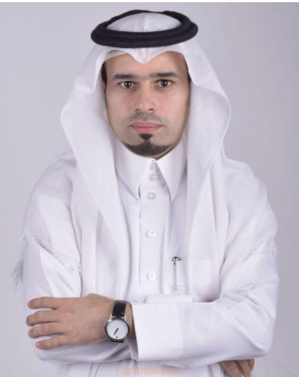 الاعلامي حسين الحبيب مبروك للمدرج الفخم الزعيم العالمي