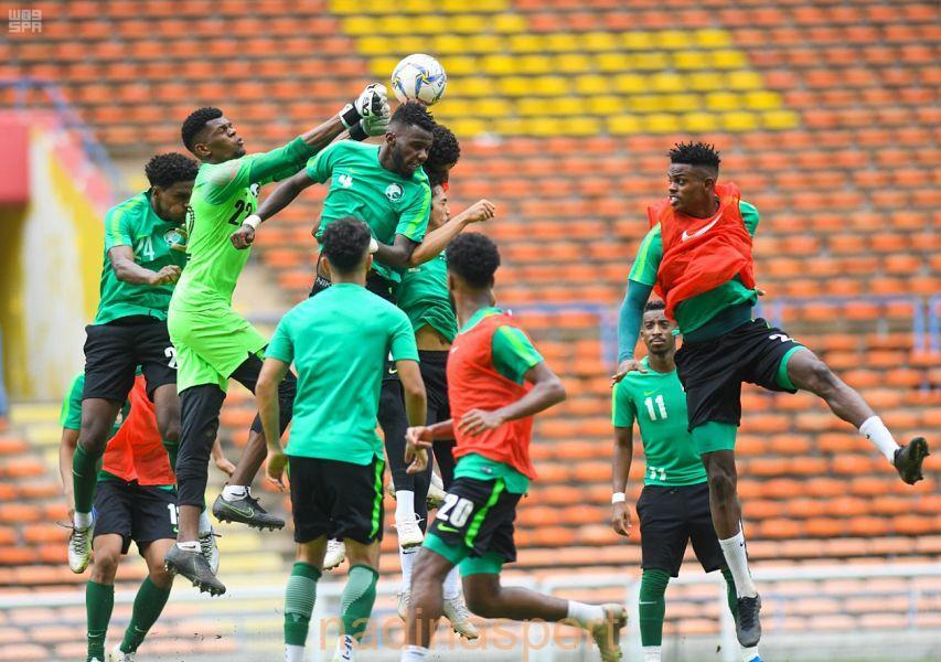 """الأخضر"""" لكرة القدم تحت 23 عامًا يواجه منتخب الأردن وديا غدًا"""