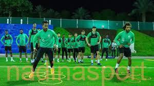 الأخضر يختتم استعداداته لمواجهة قطر