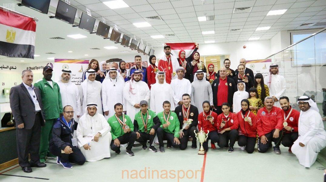 منتخب الأخضر يختتم مشاركته في البطولة العربية للرماية بتحقيق 5 ميداليات متنوعة على المستوى الفردي والفرق