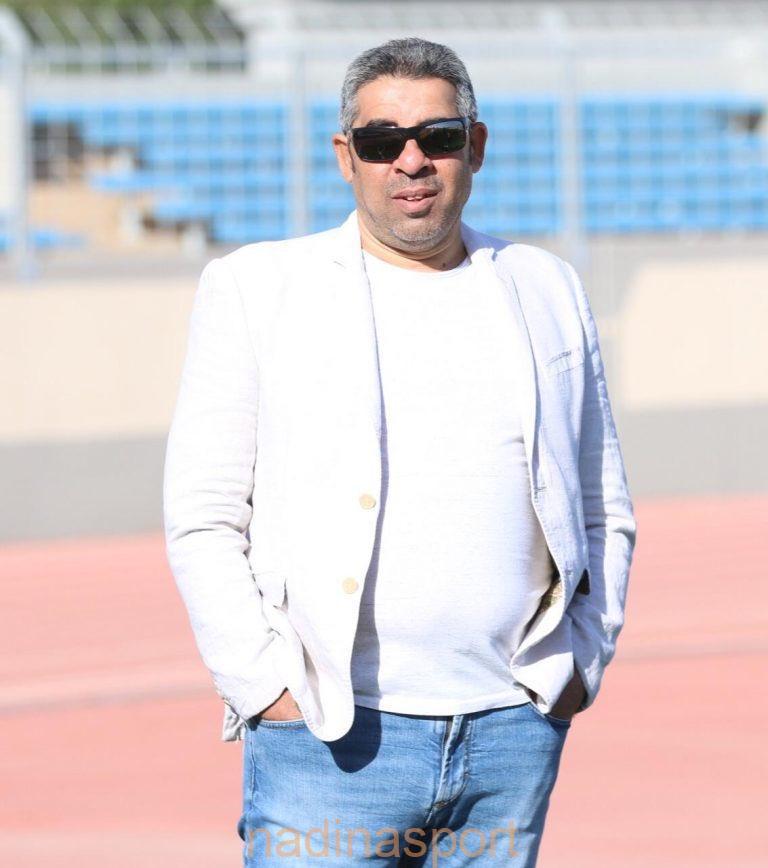 مدرب الروضة الكابتن   بهاء الدين قبيصي @BahaaKobisy نفكر في اللقاءات القادمة وسنعمل جاهدين لتجديد التفوق والفوز