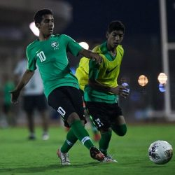 الأخضر يبدأ استعداداته لمواجهة قطر