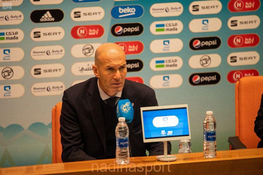 زيدان : حصول ريال مدريد على السوبر الإسباني ثمرة عمل وجهد …. ومدرب أتلتيكو يؤكد نافسنا بشرف