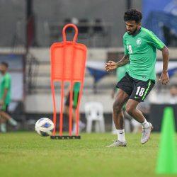 المنتخب السعودي الأولمبي يجري تدريباته ماقبل الأخيرة استعداداً لمواجهة سوريا في الجولة الثالثة