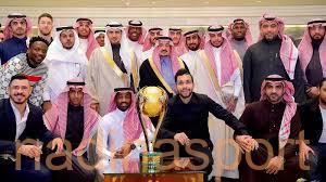 أمير منطقة الرياض يستقبل أبطال كأس السوبر