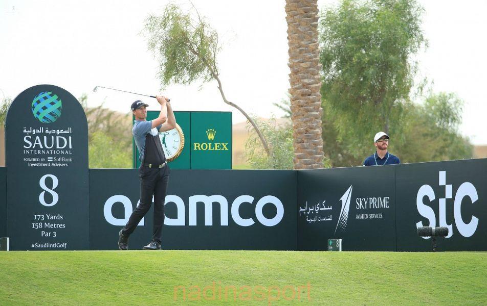 بطولة السعودية الدولية للجولف تشهد تنافساً كبيراً في يومها الثاني