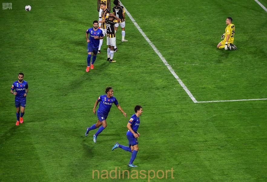 الهلال يحافظ على صدراة دوري كأس الأمير محمد بن سلمان للمحترفين بفوزه على الاتحاد بهدف من ضربة جزاء
