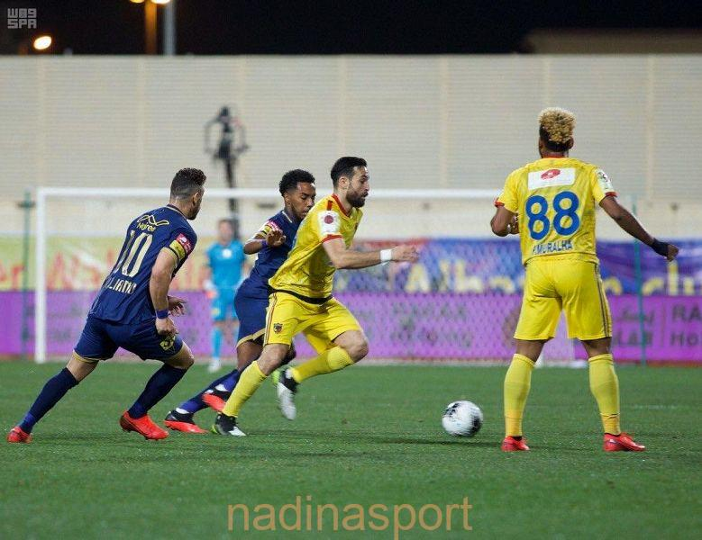 النصر يفوز على الحزم بهدفين بالجولة الـ19 من دوري كأس الأمير محمد بن سلمان للمحترفين