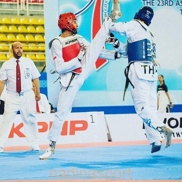 الموينع حكماً في البطولة الآسيوية الـ 24 للتايكوندو