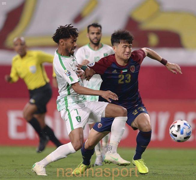 الأهلي السعودي يتعادل مع الوحدة الإماراتي في الجولة الأولى من دوري أبطال آسيا لكرة القدم