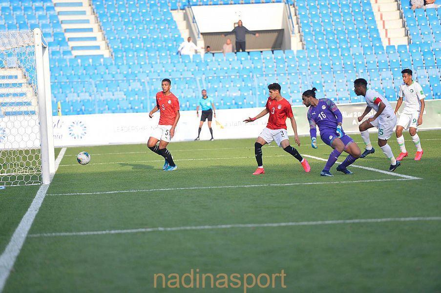 المنتخب السعودي يتعادل مع مصر في كأس العرب للشباب تحت 20 عاما