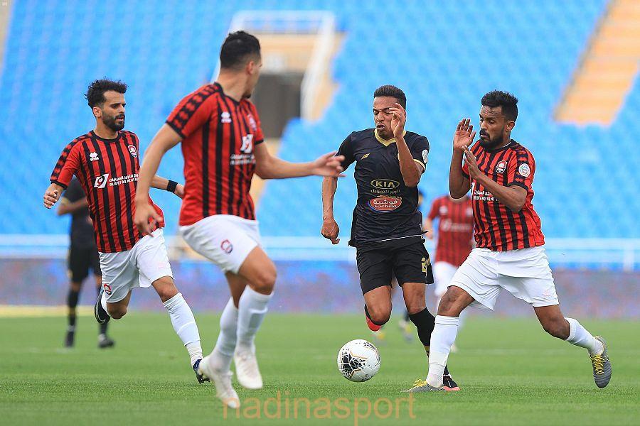 الرائد والفتح يتعادلان سلبًا في كأس دوري الأمير محمد بن سلمان للمحترفين