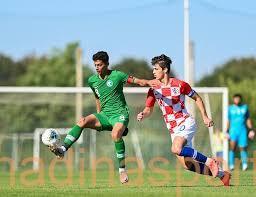 الأخضر الشاب يخسر مواجهة كرواتيا في افتتاح الدورة الودية الدولية