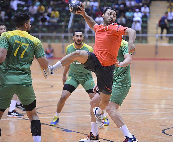 مضر يواجه الخليج غداً في نهائي كأس الأمير سلطان بن فهد لكرة اليد