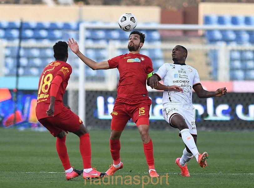الشباب يتغلب على ضمك في دوري كأس الأمير محمد بن سلمان للمحترفين