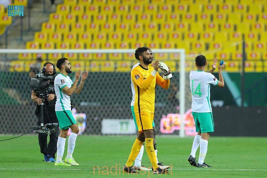 المنتخب السعودي يتغلب على نظيره الفلسطيني في التصفيات المؤهلة لكأس العالم
