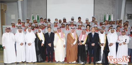 محافظ الدرعية يرعى تخرج طلاب المعهد السعودي للإلكترونيات