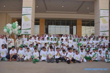 وزير التعليم يدشن فعاليات اليوم الوطني بممشى الملك عبدالله