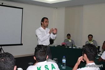 لجنة المنشطات تثقف لاعبي المنتخب السعودي الأولمبي