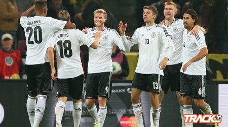 المانيا تؤكد تأهلها وتبلغ النهائيات للمرة الثامنة عشرة
