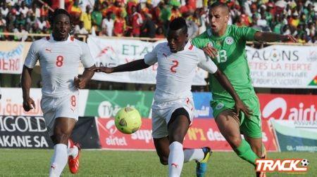 الجزائر تسجل هدفين وتخسر بالثلاثة أمام بوركينا فاسو