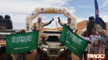 ابن سعيدان يسجل انجازاً جديداً ويتوج بطلاً لرالي المغرب الدولي