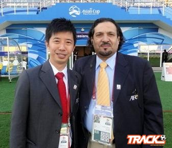 النمشان مراقباً لنهائي كأس الاتحاد الآسيوي