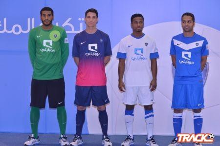 الهلال يدشن أطقم كرة القدم للموسم الرياضي الحالي