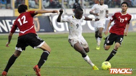غانا تطلب نقل مباراتها أمام الفراعنة خارج مصر