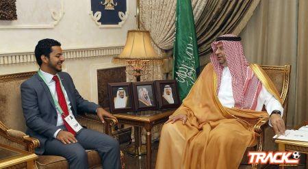 الرئيس العام لرعاية الشباب يستقبل وزير الشباب والرياضة اليمني
