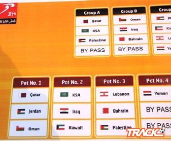 قرعة غرب اسيا : الاخضر السعودي مع قطر وفلسطين