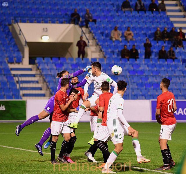 منتخب مصر يفوز على الجزائر برباعية في كأس العرب للشباب تحت 20 عاما