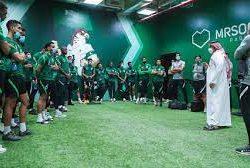 الأخضر الأولمبي يختتم تحضيراته لودية ليبيريا